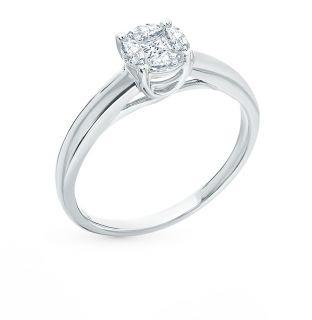 Кольца для помолвки из серебра