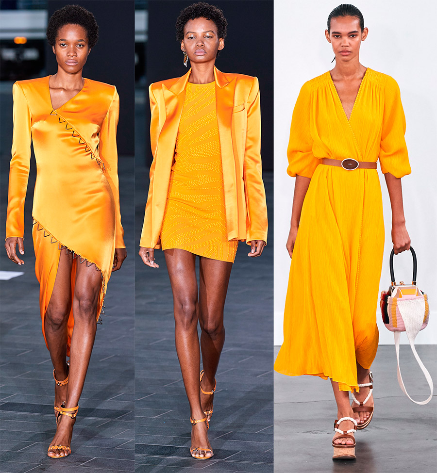 Модный цвет в одежде для женщин в 2021 году